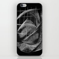 cage iPhone & iPod Skins featuring Window/Cage by Paul Kimble