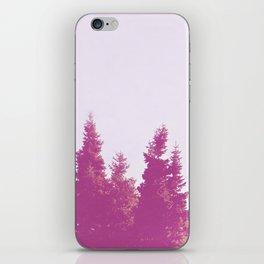 Pink Trees  iPhone Skin