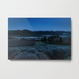 Through the Mountains and Valleys Metal Print