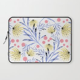 Abstract floral pattern. Laptop Sleeve