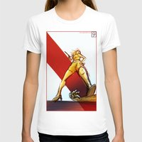 kindle T-shirts featuring Femme Fatale by garciarts