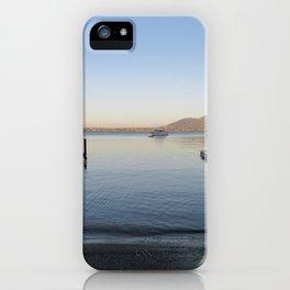 Sunset at Lake Taupo iPhone Case