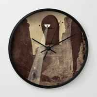 doom Wall Clocks featuring doom! by Pope Saint Victor