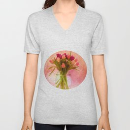 A Bloom for Spring Unisex V-Neck