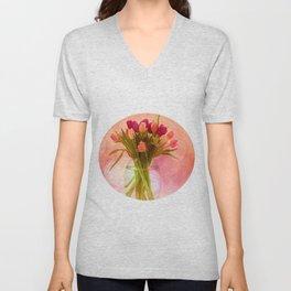 A Bloom for Spring Unisex V-Neck