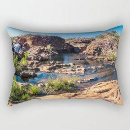 Panoramic view at Edith Falls, Katherine, Australia Rectangular Pillow