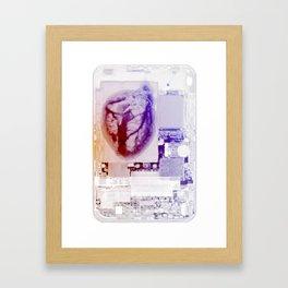 Its Heart Framed Art Print