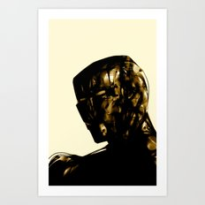 Man of Iron Art Print