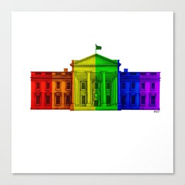 Celebrate Marriage Equality Canvas Print
