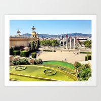 spain Art Prints featuring Spain by Emily DiLaura