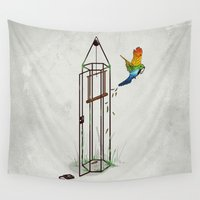 freedom Wall Tapestries featuring Freedom by Robert Richter – Artist & Illustrator