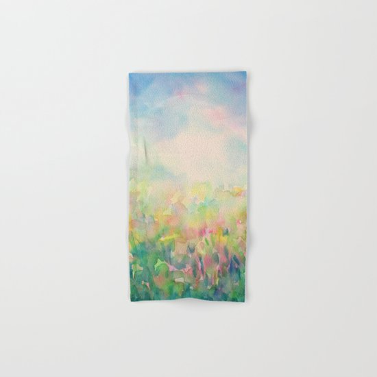 Blue Mystical Spring Hand & Bath Towel