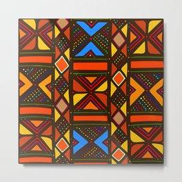 African Style No6, Sahara Desert Metal Print