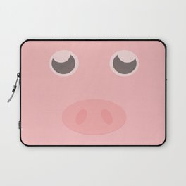 Look how cute this pig is Laptop Sleeve