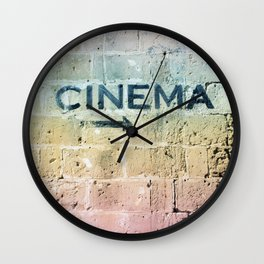Take me back in time Wall Clock