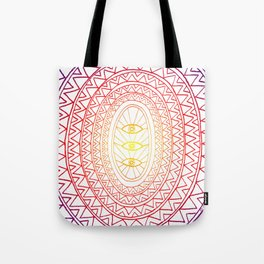 Three Eyes Tote Bag