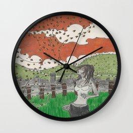 Pestilence Wall Clock