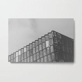 Harpatecture Metal Print