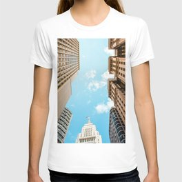 The City Above (Color) T-shirt