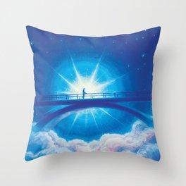 Star Bridge  Throw Pillow