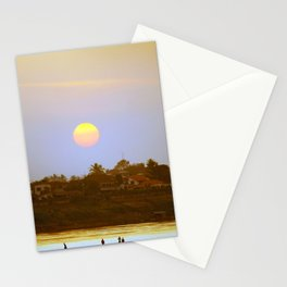 Sunset on Mekong Stationery Cards