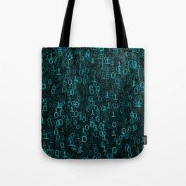 Binary Data Cloud Tote Bag