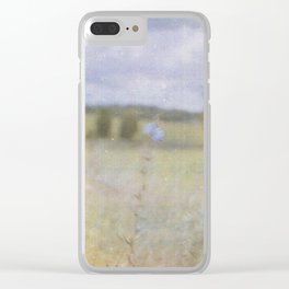 No-man's-land Clear iPhone Case