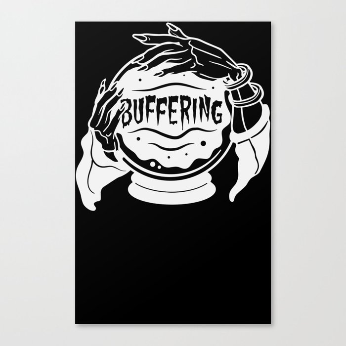 Crystal Ball Buffering Canvas Print