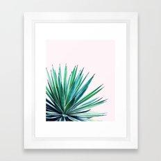 Agave Love #society6 #decor #buyart Framed Art Print