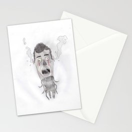 Android head Stationery Cards