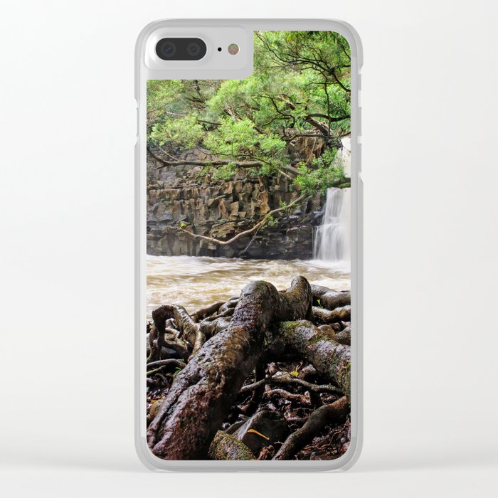 Twin Falls Clear iPhone Case