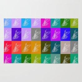 Rainbow Hummingbirds Rug