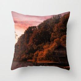 Dukes' Rest Throw Pillow