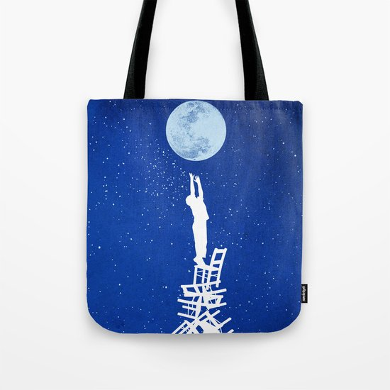 Out of Reach Tote Bag