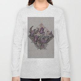 Starlings and Iris Field Long Sleeve T-shirt