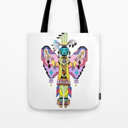 Kachina Butterfy 7 Tote Bag