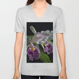 Cattleya subvar Kodama Unisex V-Neck