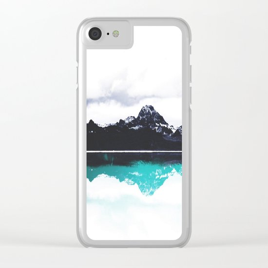 The Matthew effect Clear iPhone Case