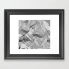 Irregular Marble II Framed Art Print