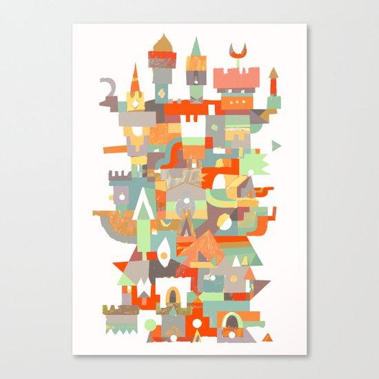 Structura 8 Canvas Print