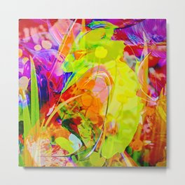 Abstract in Perfection - Flowermagic 6 Metal Print