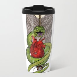 The Malevolent Serpent - #2 Animal Hierarchy Travel Mug