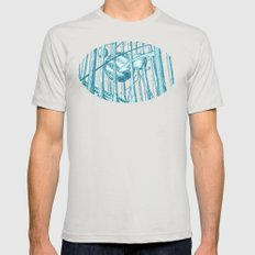 Canopy Mens Fitted Tee Silver X-LARGE