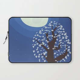Tree in the moonlight Laptop Sleeve