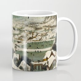 The Hunters in the Snow, Pieter Bruegel the Elder Coffee Mug