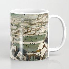 The Hunters in the Snow, Pieter Bruegel the Elder Coffee Mug