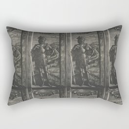 St George. Mantegna. Rectangular Pillow
