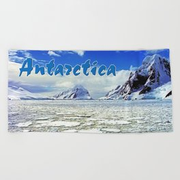 Antarctica Beach Towel