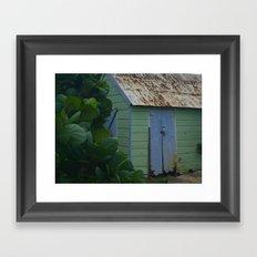 Caribbean Shed Framed Art Print