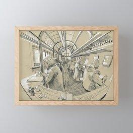 Barbarella Framed Mini Art Print